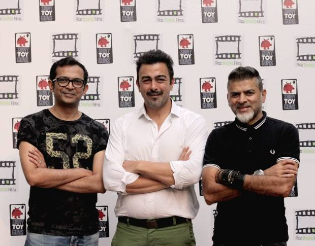 Ali Murtaza(left), Shaan Shahid (center) and Asad ul Haq (right).