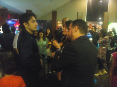 Everyone's favorite Ali Zafar praised the film while talking to the media.